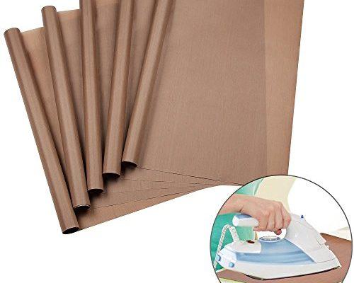 Urgear ptfe teflon sheets for heat press transfers 100 for Non stick craft sheet large