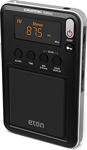 bae14285271 Digital tuner and display. Powered by 2 aaa batteries or 6V AC adaptor into  the DC jack sold separately. With the eton mini you can tune in to your  favorite ...