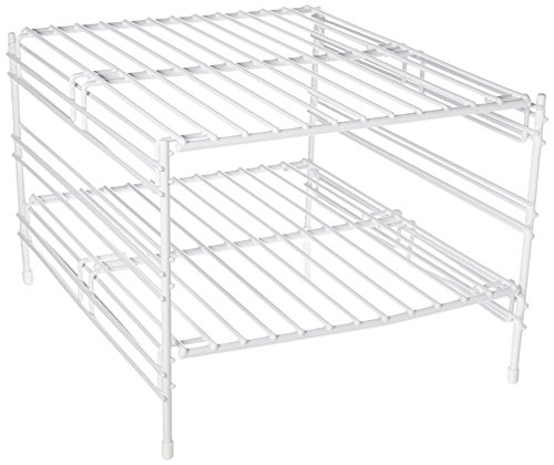 Whitmor Wire Grid Stacking Shelf Small Yawalla