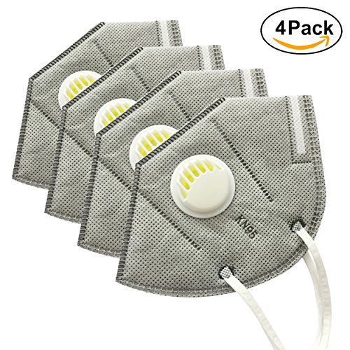 PM 2.5 Anti Pollution Mask Military Grade N99 Washable