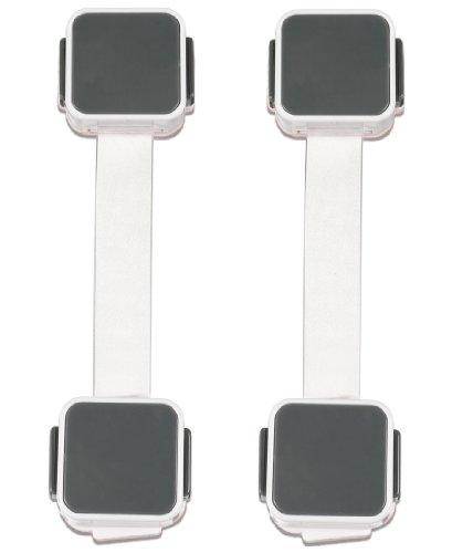 Safety 1st Outsmart Flex Lock 2 Pack White Yawalla